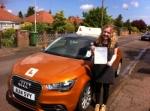 Sophia Brannan - North Walsham passed with Sylvia's School of Motoring