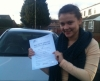 Zoe McLaughlin passed with Sylvia's School of Motoring