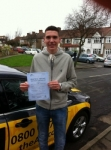 Louie passed with Caroline Driving Tuition