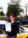 Louisa passed with Caroline Driving Tuition