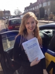 Luisa passed with Caroline Driving Tuition