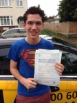 Michael passed with Caroline Driving Tuition