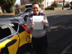 Oliver passed with Caroline Driving Tuition