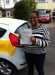 Saidah passed with Caroline Driving Tuition