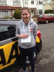 Amy passed with Caroline Driving Tuition