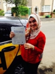 Basak passed with Caroline Driving Tuition