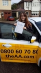 Charlotte passed with Caroline Driving Tuition