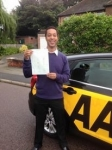 Gary passed with Caroline Driving Tuition