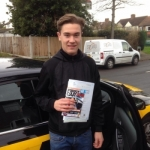 George passed with Caroline Driving Tuition