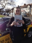 Georgina passed with Caroline Driving Tuition