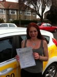 Kye passed with Caroline Driving Tuition