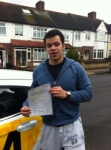 Laurence passed with Caroline Driving Tuition