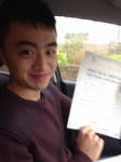 Vincent passed with Caroline Driving Tuition