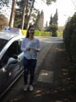 Livvy passed with DB Driving School
