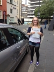 Samantha passed with DB Driving School