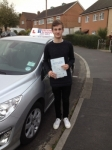 Sam passed with DB Driving School