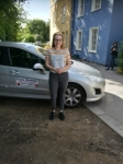 Amelia passed with DB Driving School