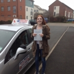 Carly Thurwood passed with DB Driving School