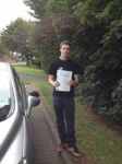 Connor passed with DB Driving School