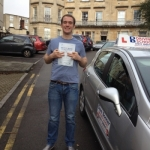 Ed passed with DB Driving School