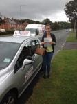 Freyer passed with DB Driving School