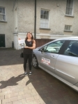 Genna passed with DB Driving School