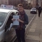 Hannah passed with DB Driving School