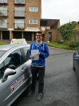 Harvey passed with DB Driving School