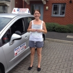 Holly passed with DB Driving School