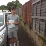 Kyle passed with DB Driving School