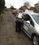 Margaret passed with DB Driving School