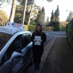 Marianne passed with DB Driving School