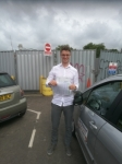 Peter passed with DB Driving School