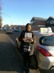 Sahalia passed with DB Driving School