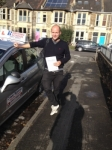 Sam Cottle passed with DB Driving School