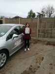 Sandra passed with DB Driving School