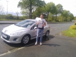 Adam passed with DB Driving School