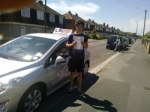 Toby passed with DB Driving School