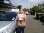 Steph passed with DB Driving School