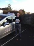 Jack passed with DB Driving School