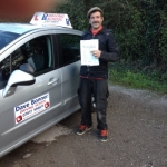 Dave passed with DB Driving School
