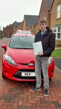 Congratulations Matt. Passed your test first time today with only 4 minor faults. All of the hard work you put in has paid off. Take care in your new Corsa. Well done mate. Drive Safe!...