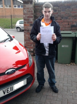 Well done Mike! First time pass with only 2 minor faults. told you you'd get there in the end and you did. Drive Safe Mate....