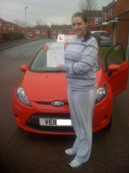 Congratulations Lynne. A first time pass in the pouring rain with the strictest driving examiner in Worcester. I look forward to seeing you out and about in your new MG Rover. Well done. Drive Safe!...