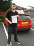 Alistair passed with Drivemark Driving School