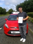 AARON passed with Drivemark Driving School