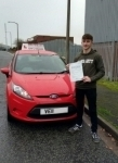 Brad. passed with Drivemark Driving School