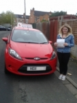 Frankie passed with Drivemark Driving School