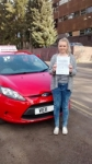 Hannah passed with Drivemark Driving School