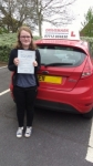 Immy passed with Drivemark Driving School
